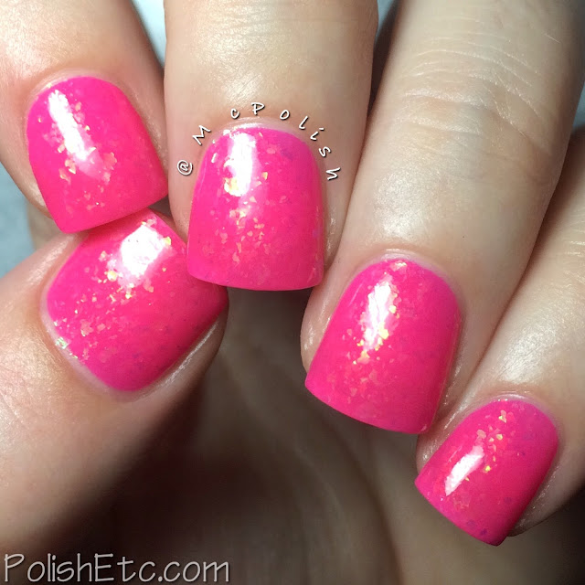 Takko Tuesday! - Electric Flamingo - McPolish
