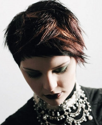 Razored Punk Hair Style 2014