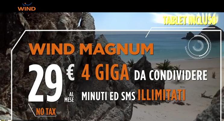 Canzone pubblicità WIND Magnum Aprile 2015
