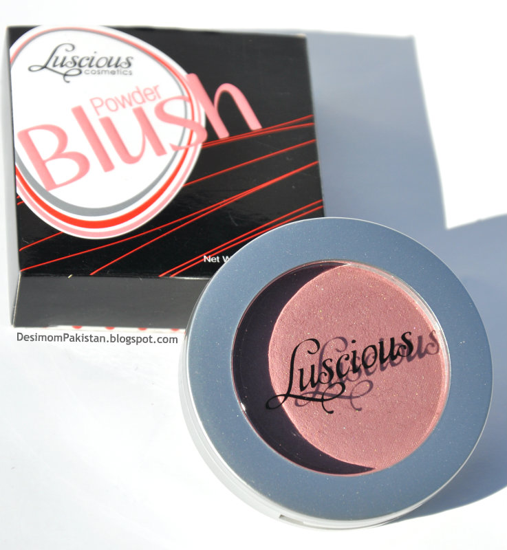 LUSCIOUS POWDER BLUSH In SPARKLE facebook