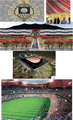 بالصور: ملاعب الرائعة لاستضافة العالم2022