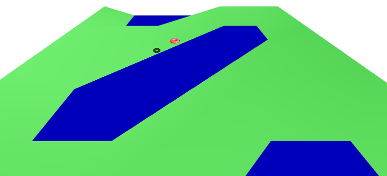 Winding River Drawing it is Not a Winding River