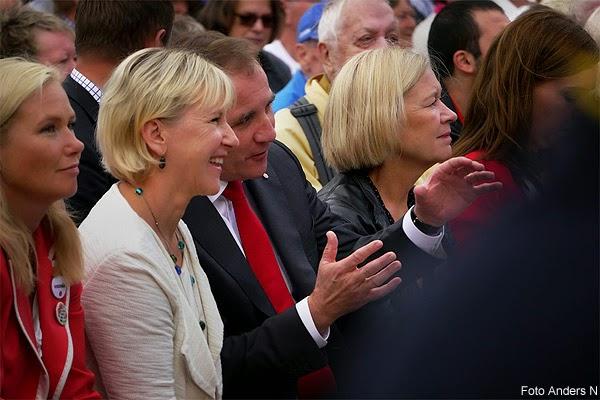 Stefan Löfven, Margot Wallström