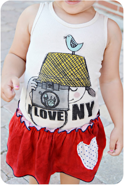 moda infantil vestido I love New York Misha Lulu dress blog mama de