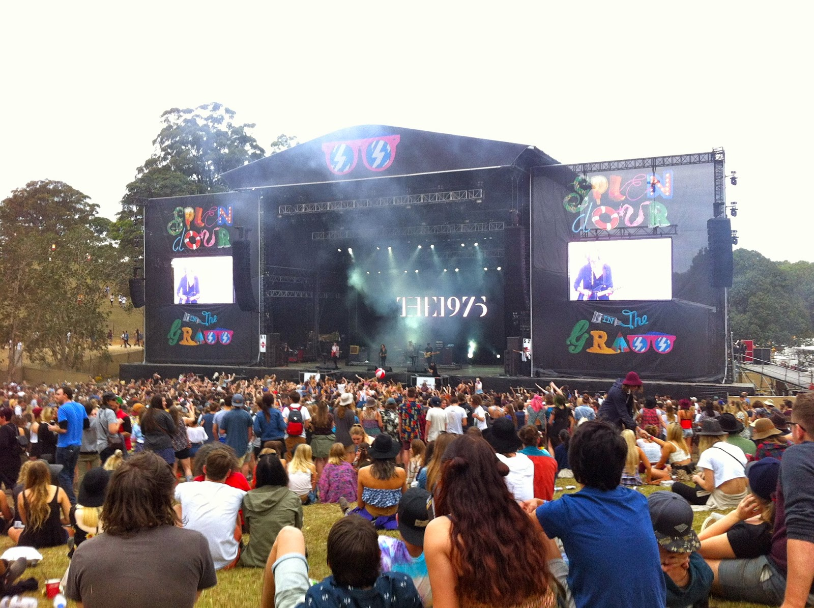 The 1975 at Splendour in the Grass, Byron Bay / July 2014