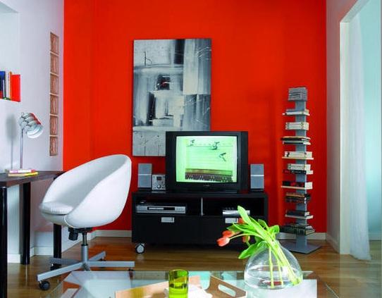 Decoracion actual de moda un piso subido de tono for Decoracion piso rojo