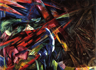 Franz Marc, The Fate of the Animals (1913)