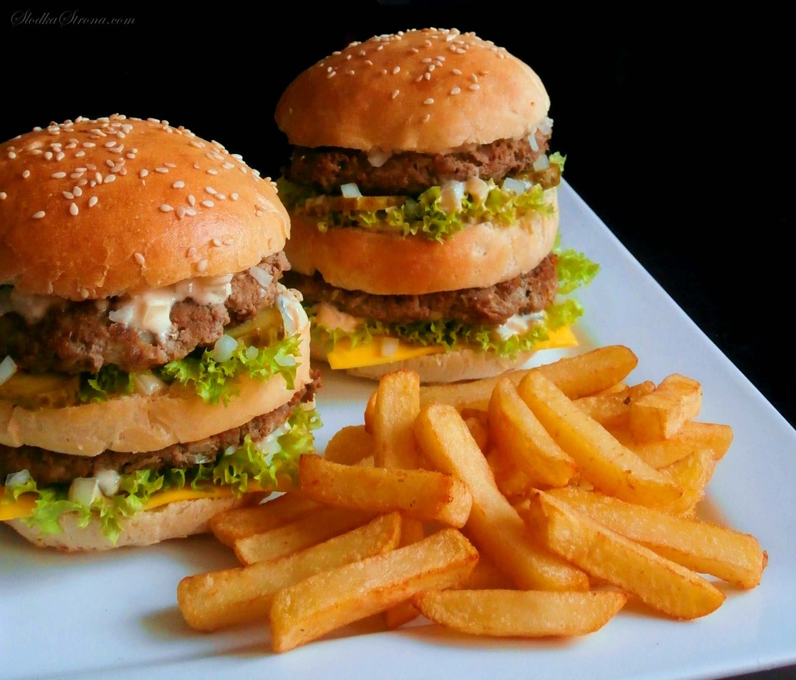 Domowy Big Mac - Przepis - Słodka Strona