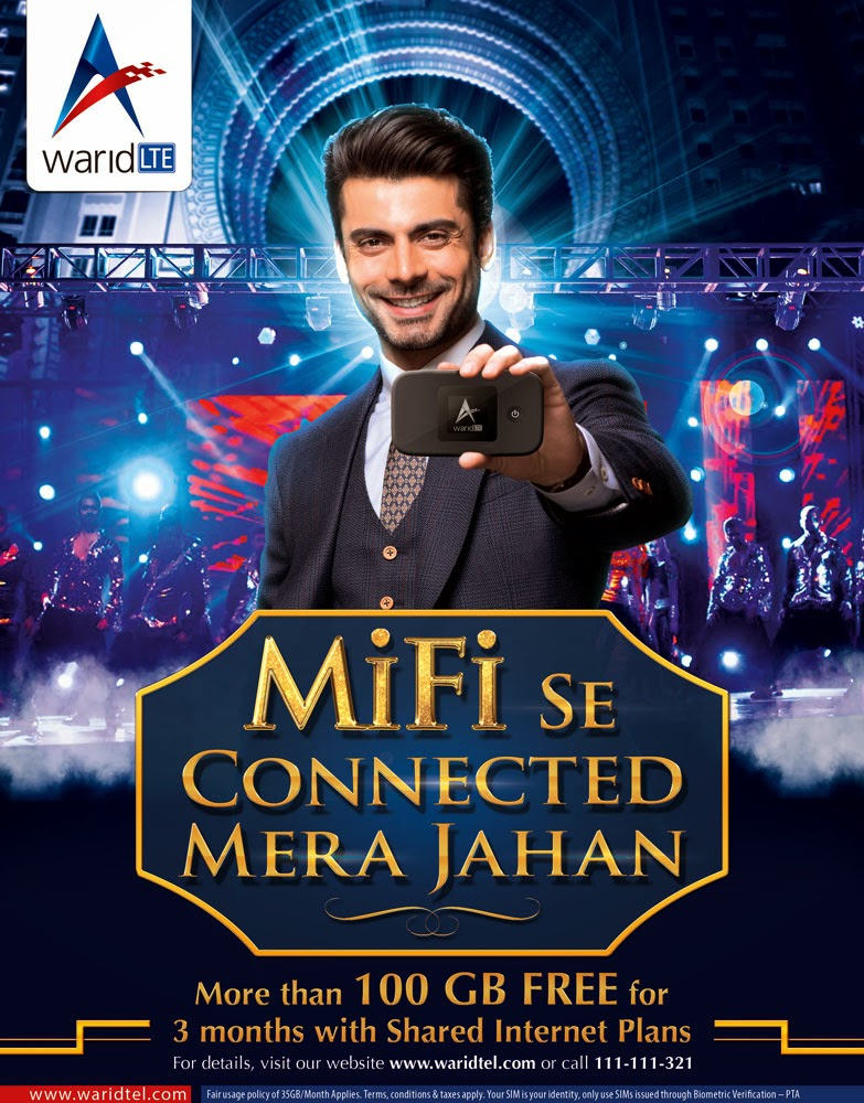 Warid launches the industry's first Shared Plans and MiFi Device
