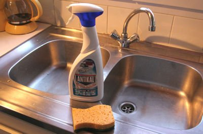 anti-scale cleanser, get rid of limescale is to use a cleanseranti-scale