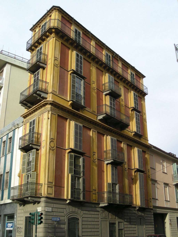 La fetta di polenta dell 39 architetto antonelli a torino for Architetto di interni di case