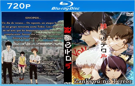 Zankyou no Terror 2014 Bluray 720p Legendado