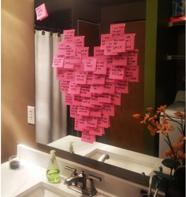 Как сделать для парня романтик