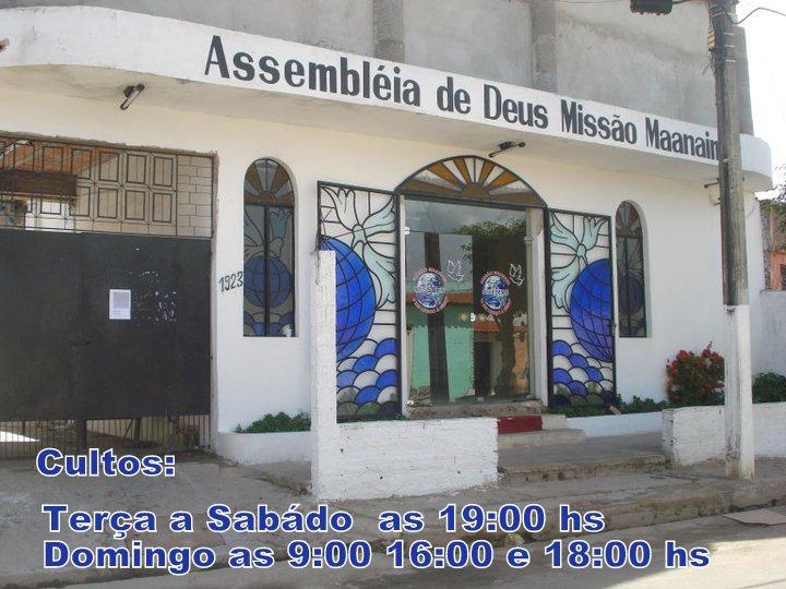 Sede- Assembléia de Deus Missionária Maanaim