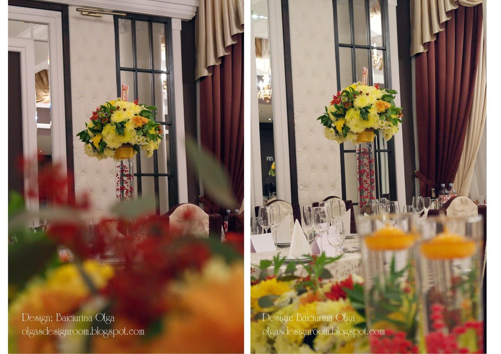 Осенняя свадьба оформление фото