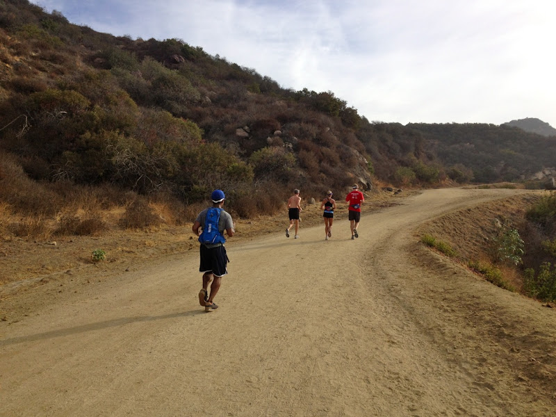 Running Hollywood Sign trail