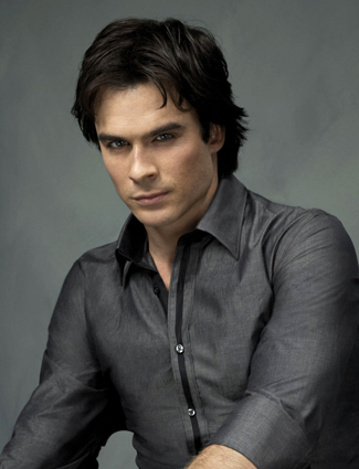 Ian Somerhalder plays Damon Salvatore, the elder and far more dangerous of ...