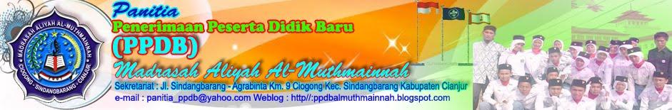 PPDB MAS AL-MUTHMAINNAH