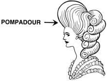 Pompadour hairstyle variations