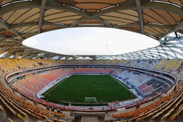 FIFA World cup 2014 general view of manaus