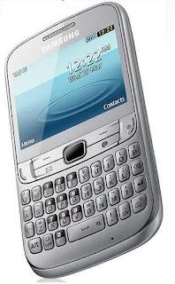 Samsung Chat 357 White
