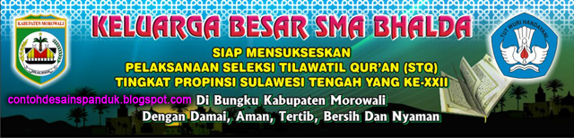 Dalam rangka menyambut Seleksi Tilawatil Qur'an (STQ) Tingkat Propinsi ...