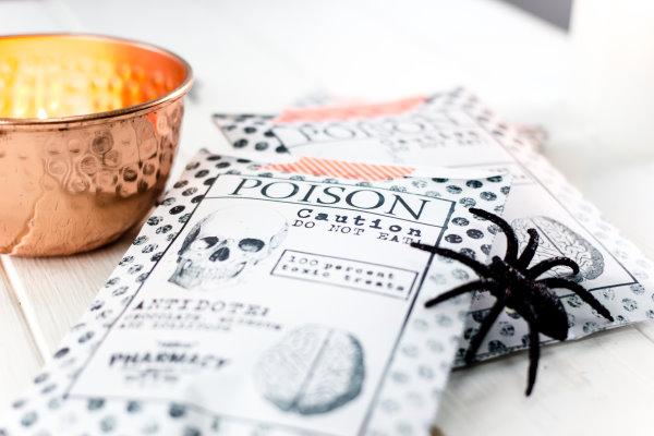 Geschenke für Halloween selber basteln