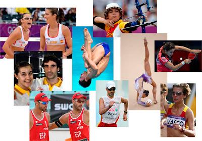 Debutantes y deportes minoritarios con representación española