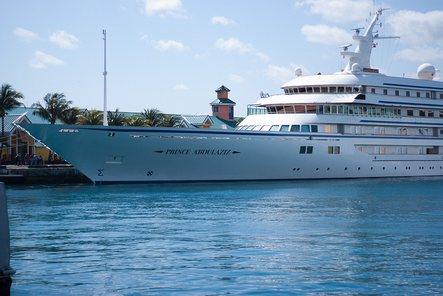 Superyacht Prince Abdulaziz