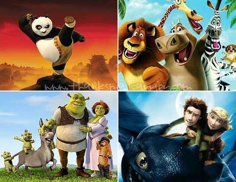 DreamWorks Animation movies