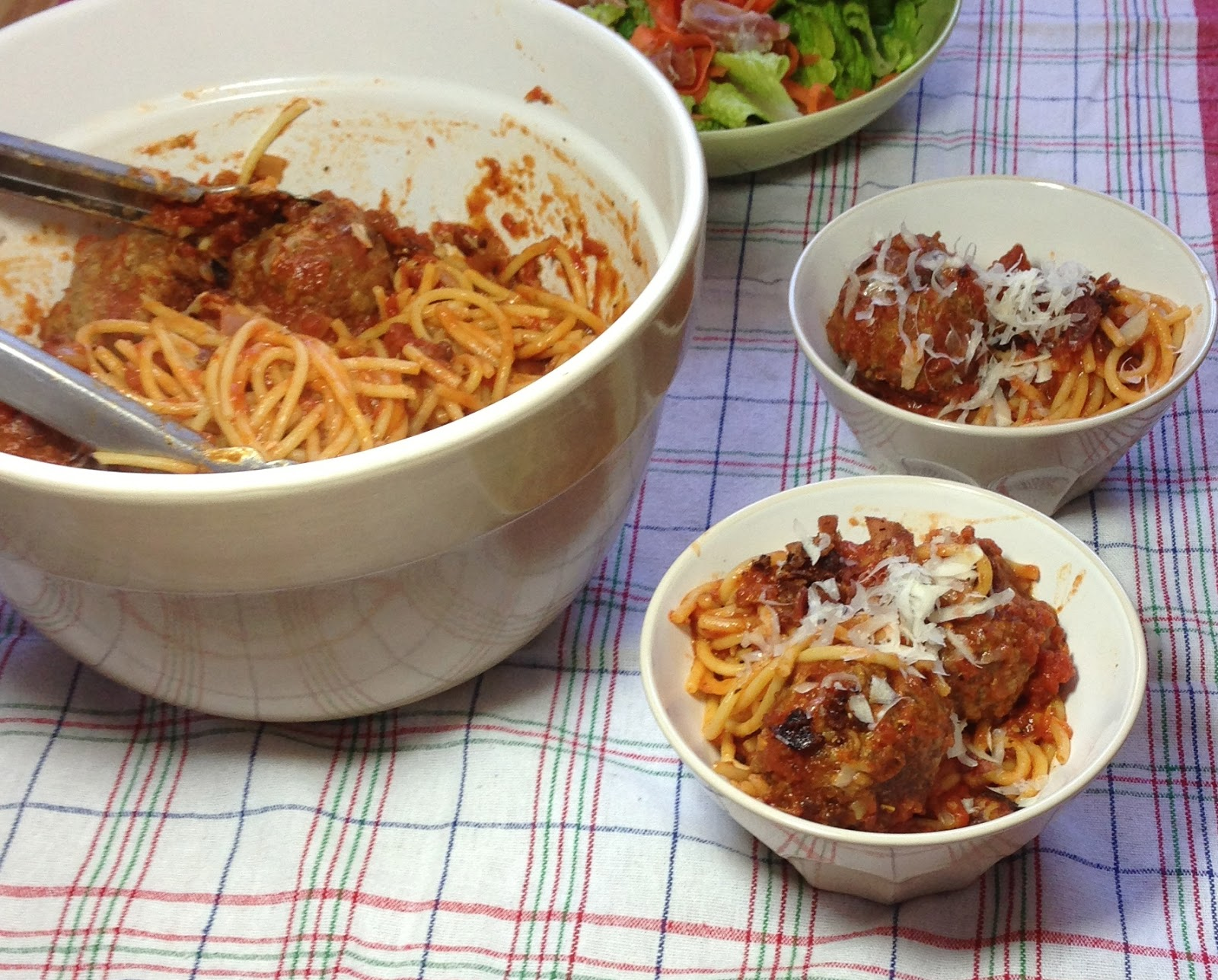 Bucatini & Bacon Meatballs - www.soliloquyoffood.com