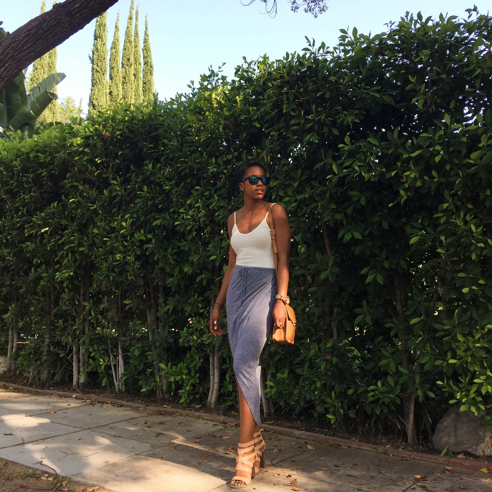 Fashion blogger dressy casual outfit of the day, ootd, ootn