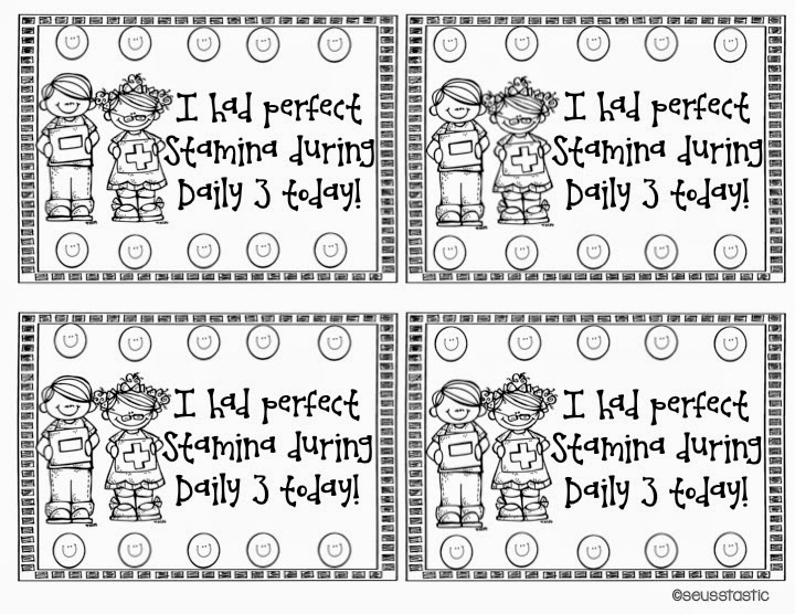 Daily 5 Math Stamina
