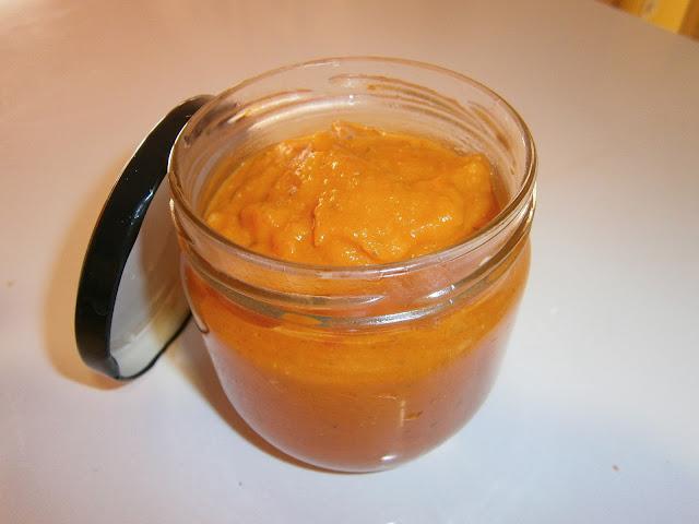 Salsa de tomate casera.