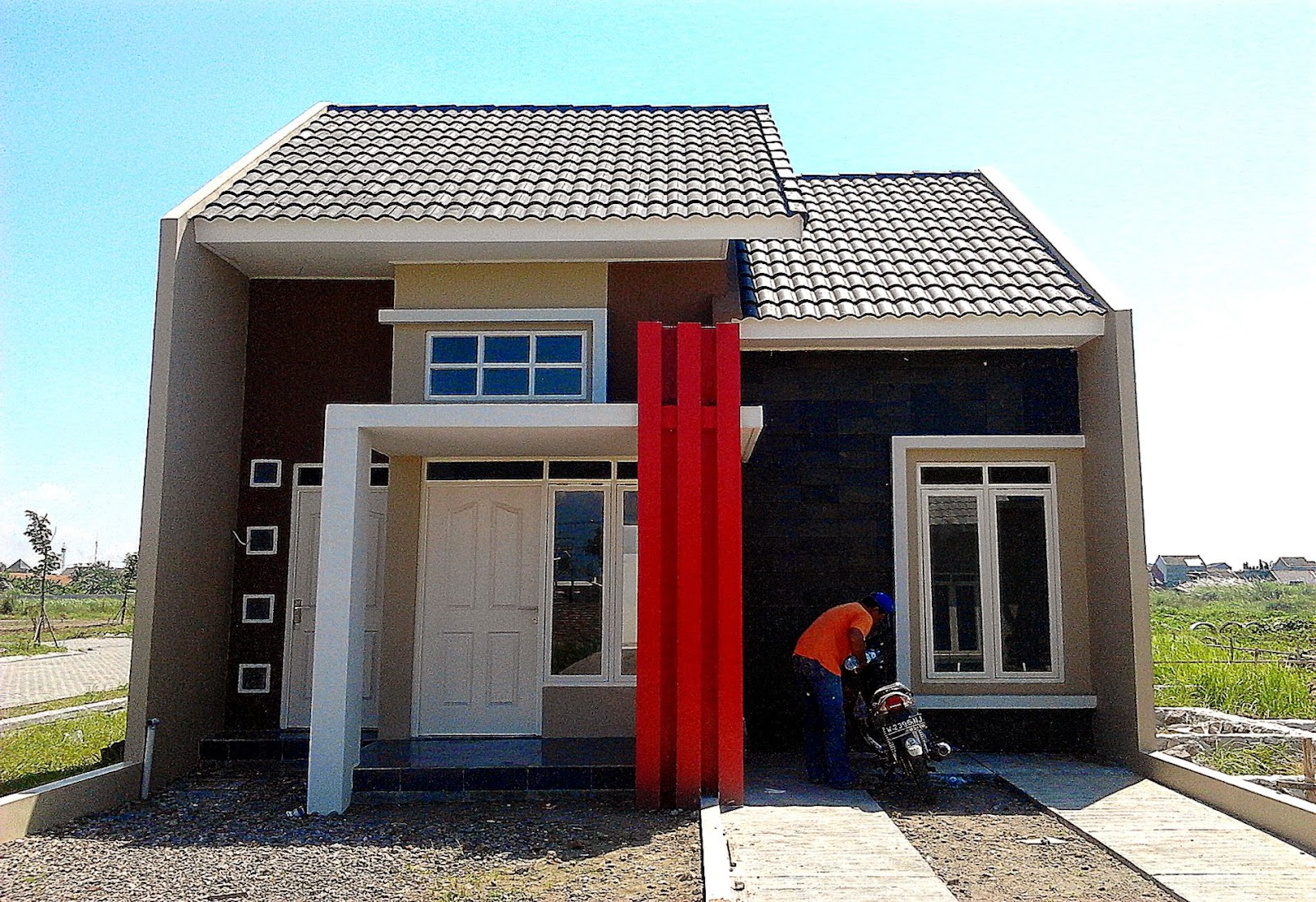 Desain Rumah Minimalis Type 45 • Nulis
