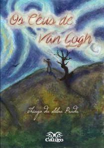 Capa do livro Os Céus de Van Gogh, poeta Thiago da Silva Prada