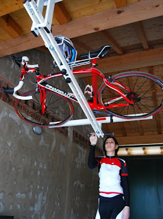 Bicycle Storage, flat-bike-lift, bike rack
