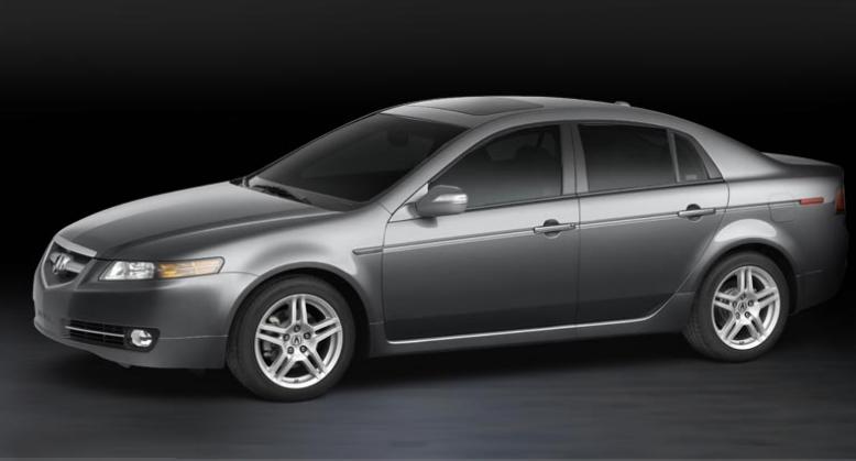 2007 acura tl 5 spd at w navigation system car