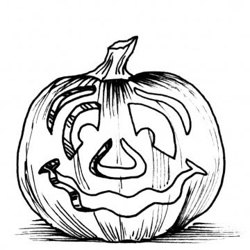 Desenhos De Abóboras De Halloween Para Colorir Jogos