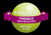2014 FINALISTA SIMO EDUCACIÓN: Mejor blog de Aula!