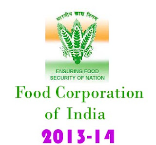 FCI Food Corporation of India Recruitment 2013-14 MT Admit Cards download fciweb.nic.in