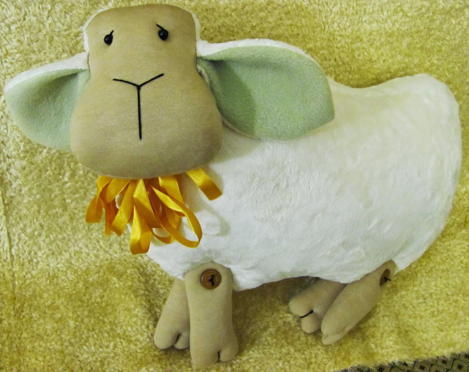 Как сшить овечку своими руками. Пошаговый мастер класс. Часть 1 34