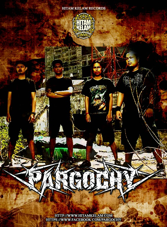 "EP "" Shackles of Revenge "" PARGOCHY Siap dirilis Ulang HITAM KELAM RECORDS !"