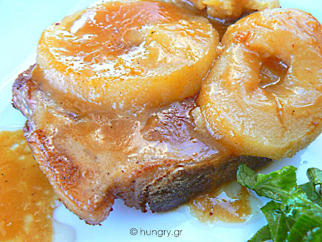 Baked Pork Chops with Apples