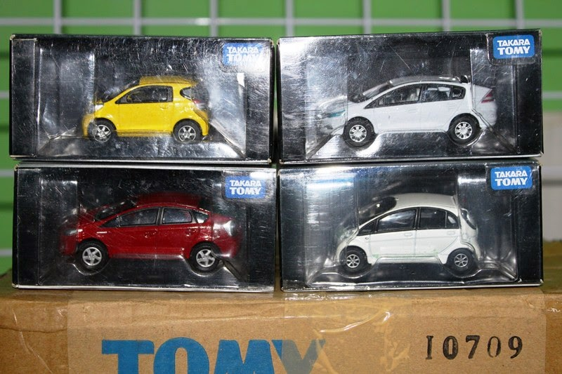 Takara Tomy Diecast Collections
