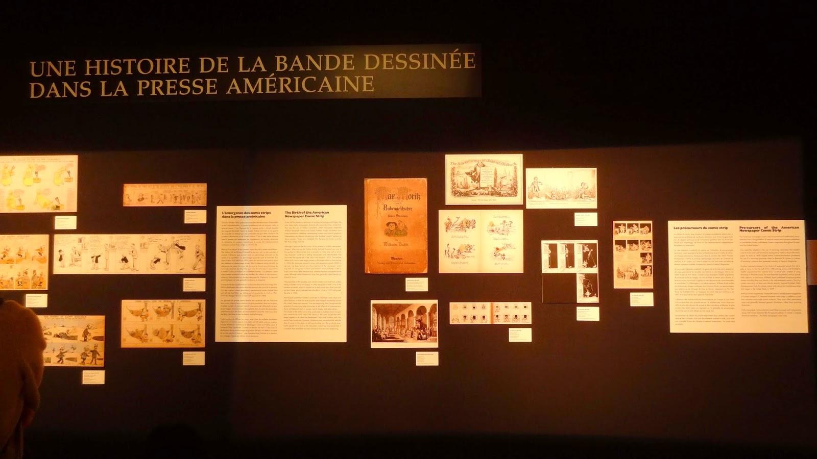 Expo Watterson Calvin et Hobbes, Angoulême FIBD 2015, histoire de la BD Presse USA