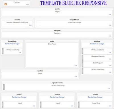 template blue jek