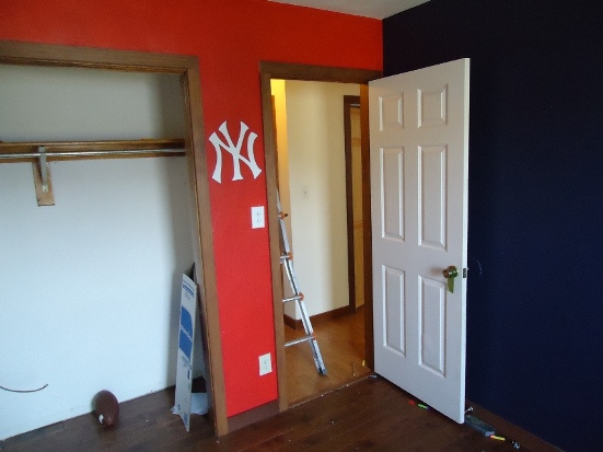 Guest Bedroom New York Yankees