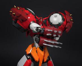 GETTER ROBOT DEVOLUTION RIOBOT BY SENTINEL