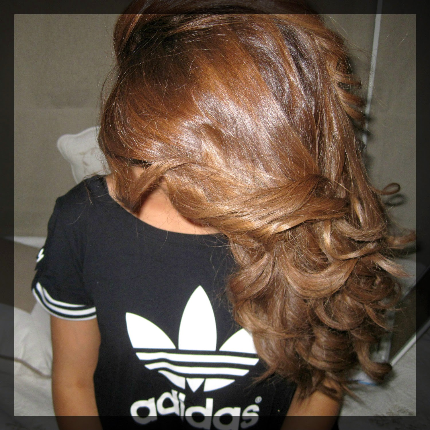 Ma coloration blond marron intense wella koleston perfect